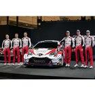 トヨタは6人3チーム体制で参戦。11月のラリージャパンにも期待が高まる。
