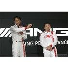 GOODSMILE RACING & TeamUKYOの谷口信輝選手(左)と片岡龍也選手(右)