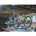『NAGI BIKE』のマウンテンバイクということで注目している人も多い。(東京オートサロン2020)