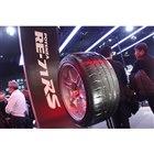 東京オートサロン2020のブリヂストンブースに展示された「ポテンザRE-71RS」。