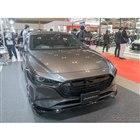 『AutoExe BP-06』を取り付けられたマツダ3デモカーの展示も。(東京オートサロン2020)