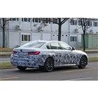BMW 3シリーズセダンEV 開発車両(スクープ写真)