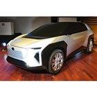 スバルの新型電気自動車のデザインスタディーモデル。