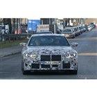 BMW M4クーペ 新型プロトタイプ(スクープ写真)