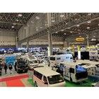 200万円台のモデルから2000万円オーバーまで幅広いモデルが会場には並ぶ。