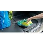 荷室には、汚れを拭き取りやすい防汚素材が採用されている。