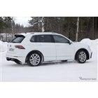 VW ティグアンR 開発車両 スクープ写真