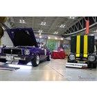 会場にはGRガレージ富山新庄のコレクションだという、トヨタスポーツ800とチェイサーが来場者の注目を集めていた。