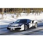 フェラーリ V6ハイブリッド 開発車両(スクープ写真)