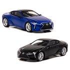 "1/64 Lexus LC500h ""Special Edition"" 2018 Structural Blue、1/64 Lexus LC500h 2018 Graphite Black Glass Flake"