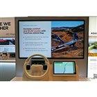 ナビレスで道路状況に応じた最適なシフトチェンジを行う新たな技術を披露した