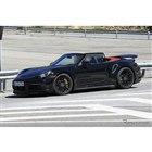 ポルシェ 911ターボ カブリオレ 新型(スクープ写真)