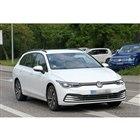 VW ゴルフヴァリアント 新型プロトタイプ(スクープ写真)