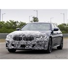 BMW 5シリーズ 改良新型の開発プロトタイプ