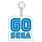 セガ設立60周年 記念「GO SEGA」アクリルキーホルダー