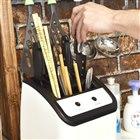 UV除菌乾燥&研ぎ機能付き包丁スタンド SUHASKKH