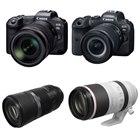 EOS R5/R6、RF600mm F11 IS STM、RF100-500mm F4.5-7.1 L IS USM