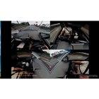 4分割モードでは前方向と車内、左方向/右後方の映像を分割表示する。パソコン上で再生した映像をキャプチャー