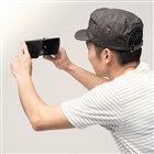 スマートフォン用バイザー「200-SPF1_2」