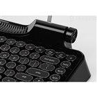 Rymek Full Black Edition ビンテージ タイプライター風メカニカルキーボード【iPhone/Android/Win/Mac対応】