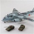 10位 AOSHIMA、16式機動戦闘車2台付き「航空自衛隊 C-2輸送機 SP」模型…9月22日