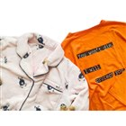 [EVANGELION]ゆるしとポケット刺繍マイクロファイバーパジャマ、[EVANGELION]セリフロゴTシャツ