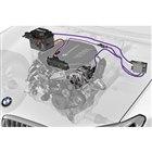 「BMW X3 M40d」に搭載される48Vマイルドハイブリッドシステム。