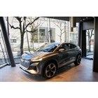 「Audi House of Progress Tokyo」では、「Q4スポーツバックe-tr...