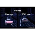高精度マップを使ったときと使わない時の効果を比較