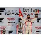SUPER GTで3度目のチャンピオンを獲得した山本尚貴