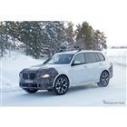 BMW X7 改良新型プロトタイプ(スクープ写真)