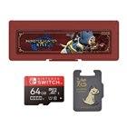 モンスターハンターライズ microSDカード 64GB+カードケース for Nintendo Switch