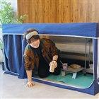 3位 おひとりさま用プライベート空間「家ナカ秘密基地テント」が6,980円で発売…2月22日