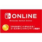 「Nintendo Switch Online ゴールドポイントキャンペーン」