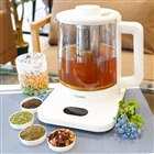 約8杯分のお茶を煮出せる、沸騰・保温・温度調整対応の電気ティーポット