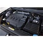 ガソリンエンジン車「TSI」は、従来の1.4リッター直4ターボに代わり、最新世代の1.5リッタ...
