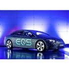 メルセデスベンツ EQS のプロトタイプ