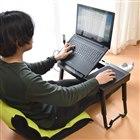 「折りたためるPC台 USBハブ付き高さ角度調整ローデスク S-UGT21B」