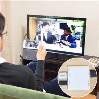 HDMIビデオ出力アダプタ for iPhone LGHTHDM3