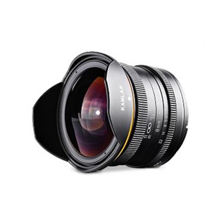 KAMLAN、超広角単焦点MFレンズ「8mm F3.0」を約25,000円で発売
