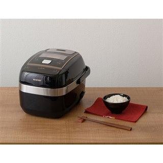 アイリスオーヤマ、「量り炊きモード」を搭載した圧力IH炊飯器