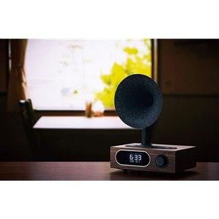 SANSUI、アサガオホーンデザインのBluetooth対応ラジオスピーカー「MSR-5」