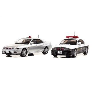 「スカイラインGT-R オーテック」パトロールカー2種、数量限定でミニカー化