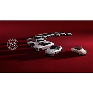 マツダの各車に創立100周年記念モデルが登場