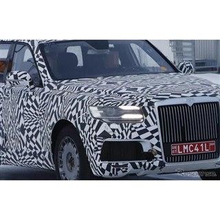 ロシアのロールスロイス、最新の姿を激写!大統領専用車として2021年デビューか