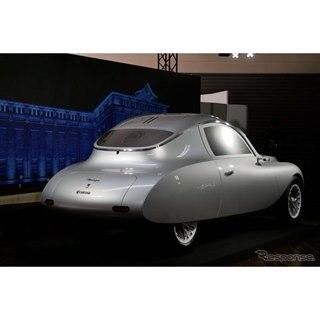 京セラのコンセプトカー『モアイ』…デザインテーマは「時間を駆け抜けるデザイン」