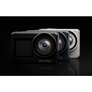 AKASO、前後デュアルディスプレイを搭載したアクションカメラ「Brave 7」