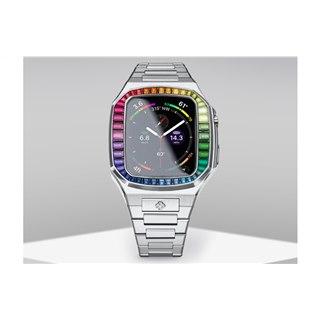 209,000円、高級Apple Watchケース「EV44」に24本限定モデル「Rainbow」