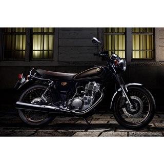 43年の歴史に幕 ヤマハのロングセラーバイク「SR400」に最終モデル登場