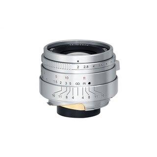ライカM用レンズ「7Artisans 35mm F2」にクラシカルな雰囲気のLimited Silver登場